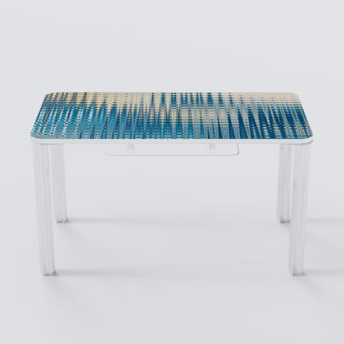 Tables by Chassie Studio seen at Upper East Side Apartments, New York - Spring Desk