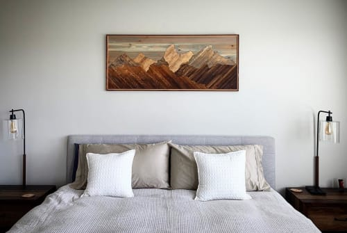 Art & Wall Decor by Sarah Sawdust seen at Private Residence, Boise - Teton
