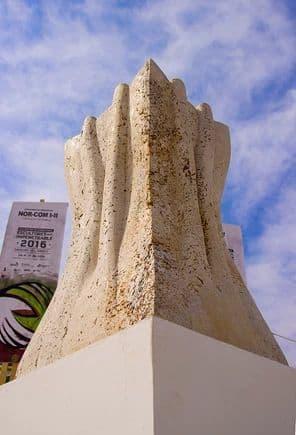 Public Sculptures by Nils Hansen | Sculpture & New Media Art seen at Castelli, Castelli - Touching Trunks