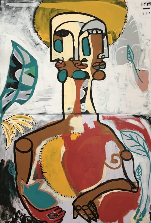 Choosing Direction | Paintings by Paula Gasparini-Santos