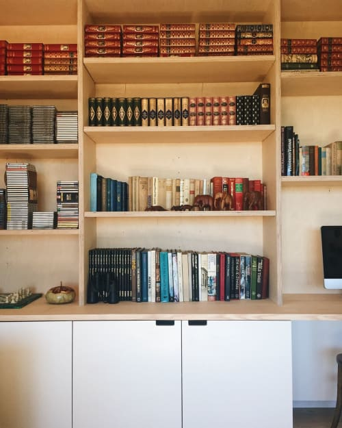 Furniture by Softer Studio seen at Private Residence, Federal - Custom Library