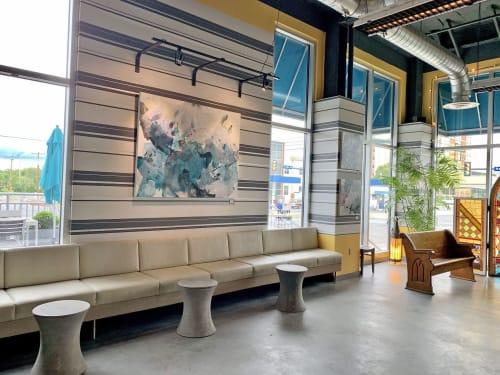 Paintings by Pamela J. Black seen at Café 1500, Harrisburg - Paintings on Display in Cafe 1500