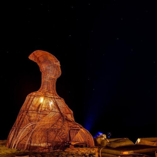 Public Sculptures by Daniel Popper seen at Scorpios - LETO