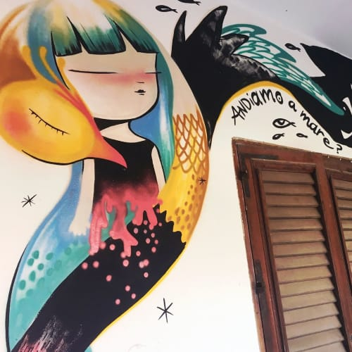 Indoor Mural   Murals by Julieta XLF