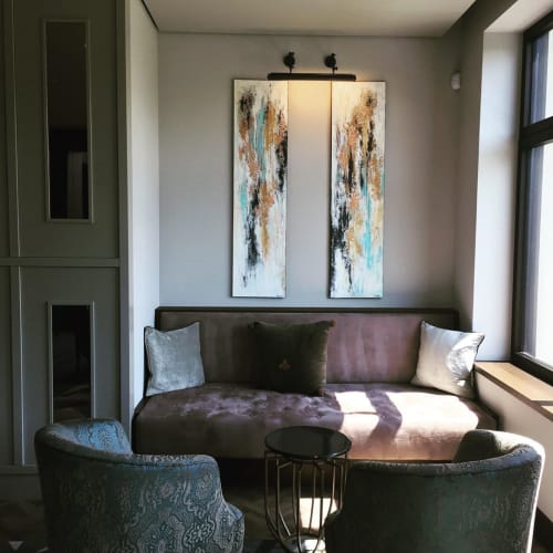 Paintings by Julija Saler seen at Private Residence - Salvation I-II