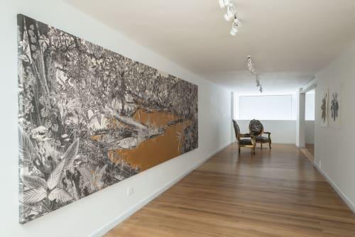 Paintings by Tatiana Arocha seen at Bogota, Bogotá - El rio en el que nos bañamos