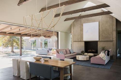 Pendants by Windy Chien seen at Private Residence - Helix Chandelier