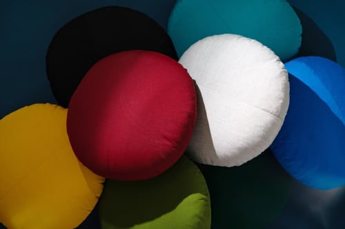 Pillows by Bend Goods - Round Throw Pillow