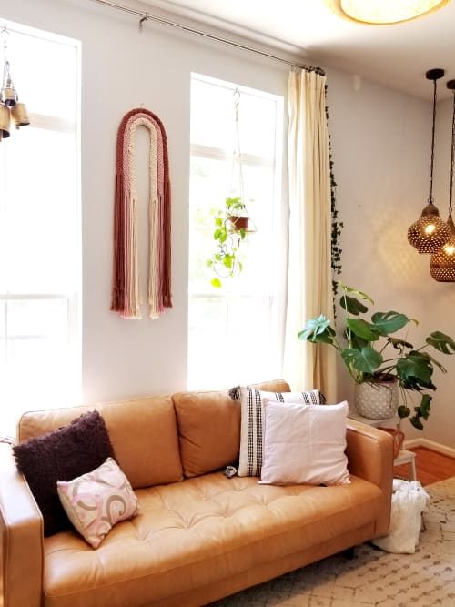 Macrame Wall Hanging by YASHI DESIGNS seen at Private Residence, Milpitas - Pravesh