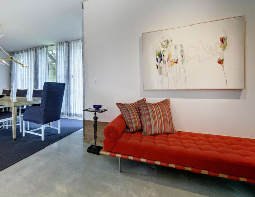 Paintings by Diana Greenberg at Client Residence - Austin, Texas, Austin - Painting