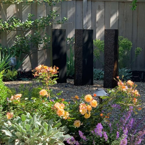 Plants & Landscape by Marilee Gaffney Design seen at Private Residence, Palo Alto - Modern Mediterranean