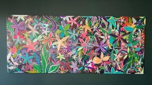 Murals by Bechara Baroudi seen at Private Residence - Bechara Baroudi