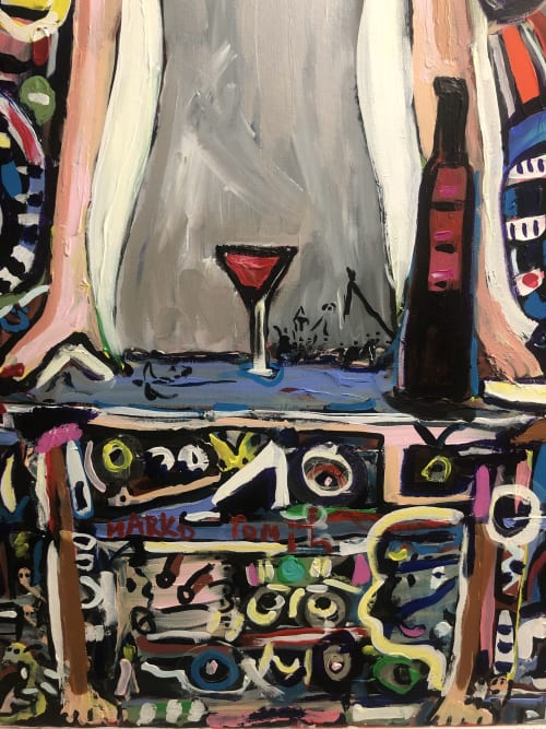 Paintings by Marko Tomic seen at Private Residence, Miami - Today is Tomorrow
