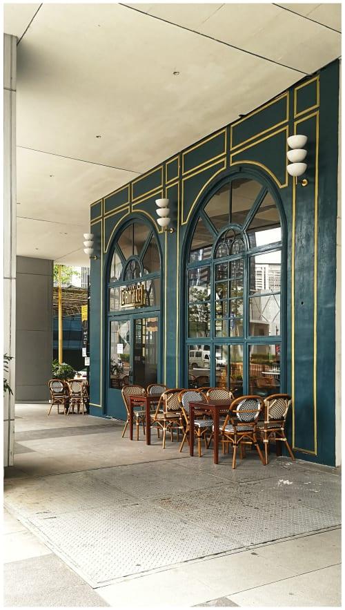 Interior Design by Headroom seen at Osteria Daniele, Taguig - Osteria Daniele