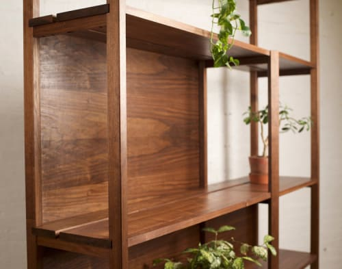Furniture by Reed Hansuld at Private Residence, New York - Shelving Unit No. 1