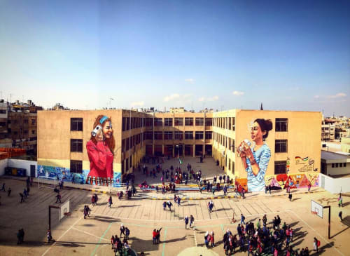 Suhaib Attar Artwork - Murals and Street Murals