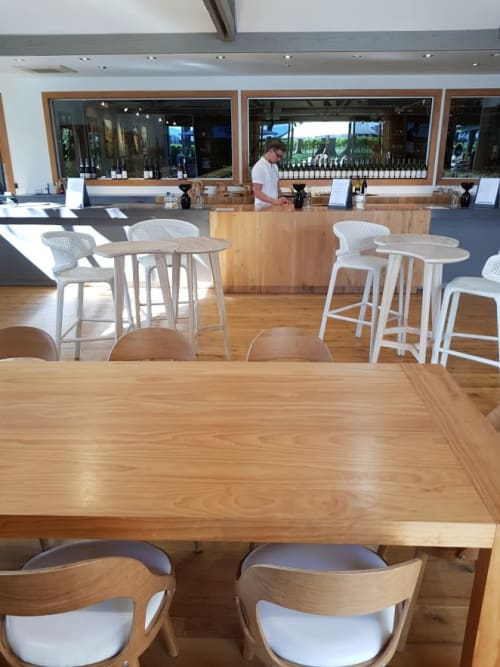 Chairs by Hans K seen at Cloudy Bay Vineyards, Blenheim - Colibri chair by Hans K