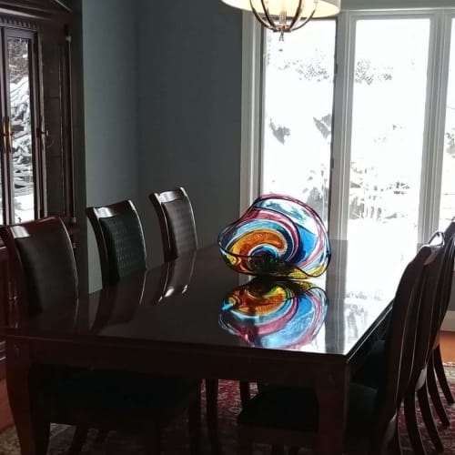 Sculptures by Paull Rodrigue seen at Private Residence, Hamilton - artwork