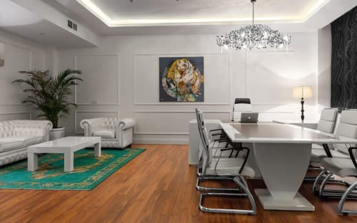 Interior Design by Alireza Shafieitabar seen at Ekbatan Town, Tehran - Modern Insurance Office
