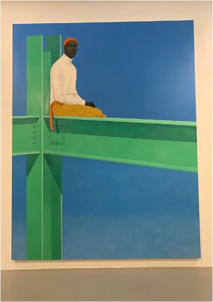 Paintings by Amy Sherald seen at Hauser & Wirth, New York - If You Surrendered to the Air, You Could Ride With It