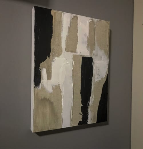 Art Curation by Dayn Kenneth seen at Private Residence, Toronto - Fine lines.