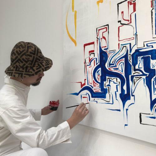 Art Curation by Jodae seen at Seongsuil-ro, Seongsuil-ro - FENDI CRAFF KOREA 2019