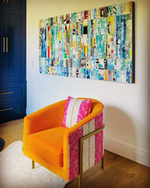 Paintings by Andrzej Michael Karwacki seen at Private Residence, Oakland - EQ Rejuvinate Your Day