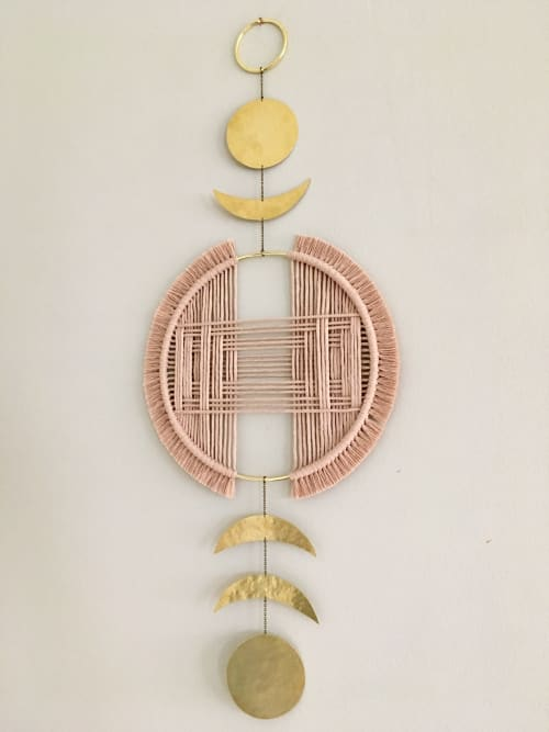 Macrame Wall Hanging by Beatriz Fraia seen at Private Residence, San Diego - Macramé Wall Hanging