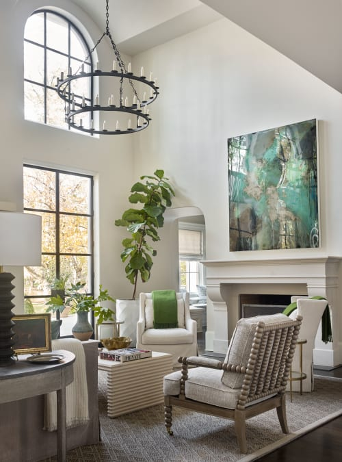 Chandeliers by Ainsworth Noah seen at Private Residence, Atlanta, Atlanta - Chandeliers