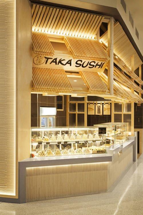 Interior Design by Span Design seen at Taka Sushi, Miranda - Interior Design