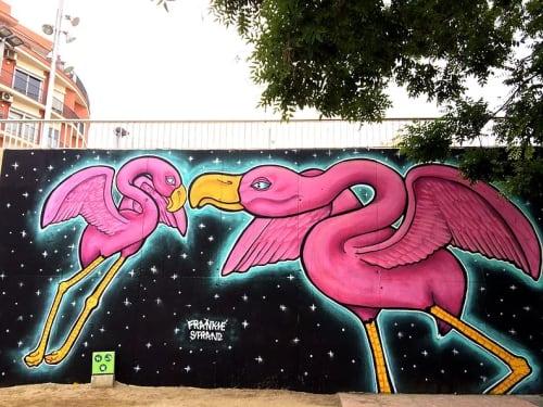 Frankie Strand - Murals and Street Murals