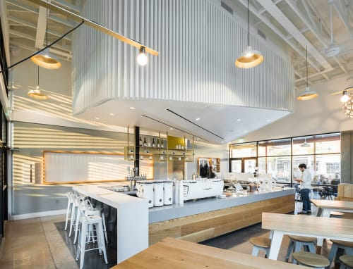 Interior Design by OFFICIAL: Architecture and Furniture seen at Houndstooth Coffee, Austin - Interior Design