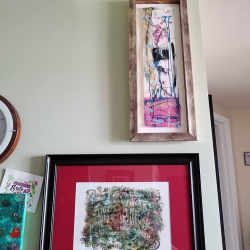 Paintings by Rose M Barron at Private Residence, Atlanta - Zen TV