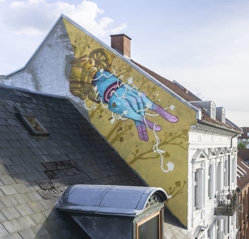 Art Curation by Isaac Malakkai seen at Amaliegade 39, Horsens - Queen Amalie