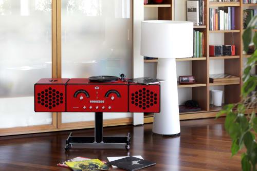 Appliances by Brionvega seen at Private Residence, Milan, Milan - Radio Fonografo & Radio Cubo