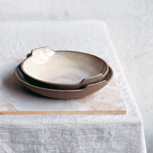 Ceramic Plates by Alex Gabriels seen at Private Residence - tableware