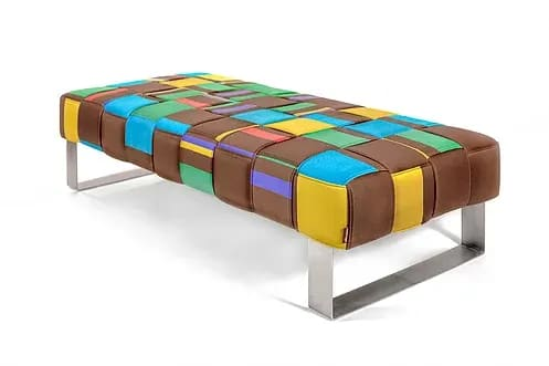 Furniture by Lucy Tupu Studio seen at Private Residence, New York - Flax Day Bed