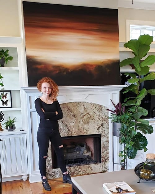 Paintings by Kendra Neal Art seen at Private Residence, Augusta - Sailors Delight