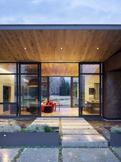 Architecture by CLB Architects seen at Private Residence, Jackson - Queen's Lane Pavilion