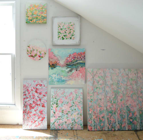 Paintings by Ann Marie Coolick Fine Art at Private Residence, Arlington - Oil paintings by Ann Marie Coolick