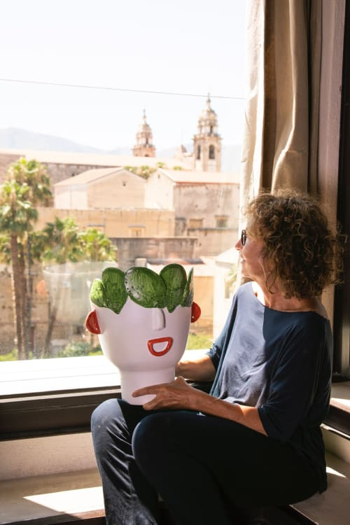 Art & Wall Decor by Patrizia Italiano seen at Private Residence, Palermo - Carmelina prickly pears seller