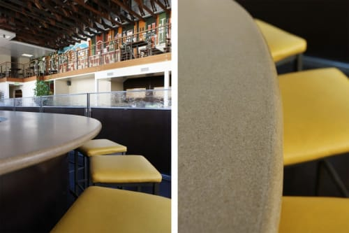 Furniture by Concreteworks seen at Nopa, San Francisco - Bartops