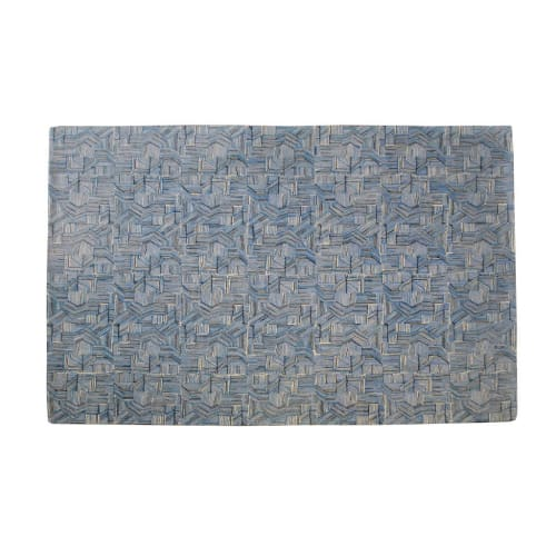 Rugs by Donna Wilson seen at Lawrence House, London - Blue Line Rug