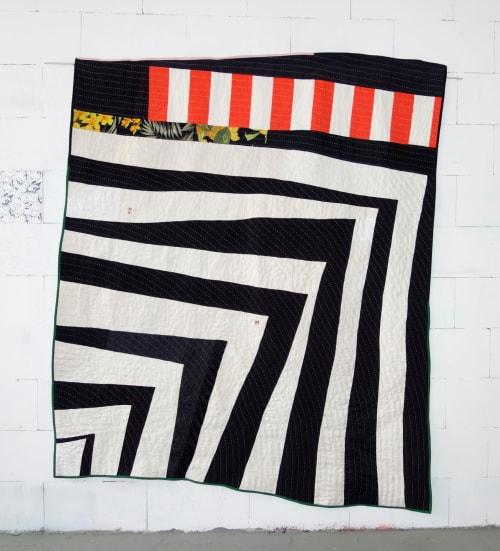 Black White Quilt   Beds & Accessories by DaWitt   Farbenfabrik in Leipzig