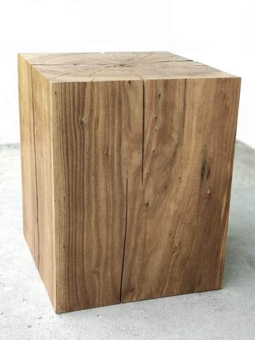 Tables by Fixture Studio seen at Grand Junction, Grand Junction - Square Elm End Table