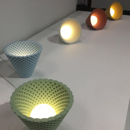 Pendants by Ardoma Creations by Dror Kaspi seen at Jacob K. Javits Convention Center, NYC, New York - Helia