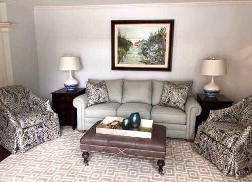 Paintings by Debbi Smith Rourke seen at Private Residence, Naperville - The Welcoming