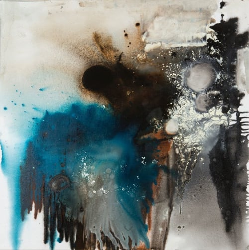 Abstract Painting   Paintings by Nicola Barth   Dinges in Wertheim