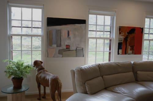 Paintings by Anelisa Calmet Studio seen at Private Residence, Greenwich - Maras