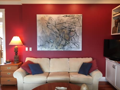 Paintings by The Mink Gallery at Private Residence, Ithaca - AbEx 2